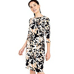 Wallis - Animal printed dress