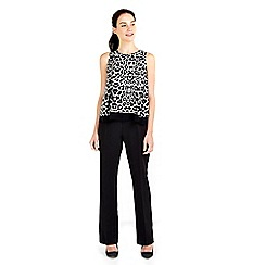 Wallis - Animal overlay jumpsuit