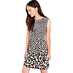 Wallis - Animal printed shift dress