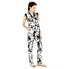 Wallis - Monochrome printed jumpsuit