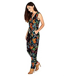 Wallis - Bright ditsy jumpsuit