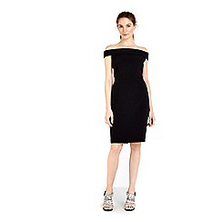 Wallis - Black bardot dress
