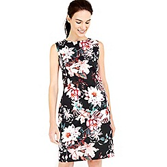 Wallis - Floral cotton shift dress