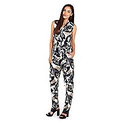 Wallis - Palm printed jumpsuit