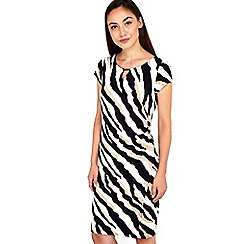 Wallis - Animal print wrap dress