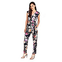 Wallis - Floral printed jumpsuit
