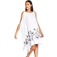 Wallis - Sapphire grey floral dress