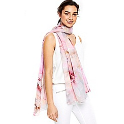 Wallis - Pink pale orchid scarf