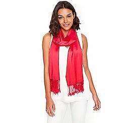 Wallis - Fuchsia pashmina scarf