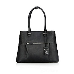 Wallis - Black lucy 3 compartment bag