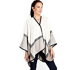 Wallis - Cream border wrap