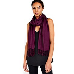 Wallis - Purple luxe pashmina