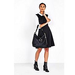Wallis - Black sienna shoulder bag