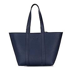 Wallis - Navy samantha shopper bag