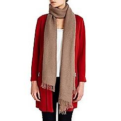 Wallis - Camel scarf