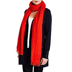 Wallis - Orange scarf