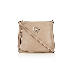 Wallis - Taupe cross body bag