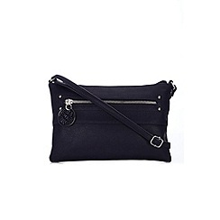 Wallis - Navy cross body bag