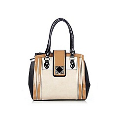 Wallis - Camel colurblock bag