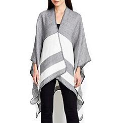 Wallis - Grey Stripe Wrap