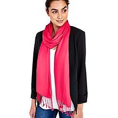 Wallis - Hot pink pashmina