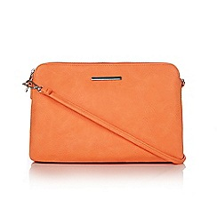 Wallis - Orange zip cross body bag