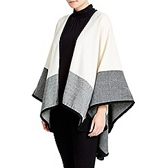 Wallis - Cream colour block wrap