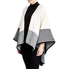 Wallis - Cream colour block wrap