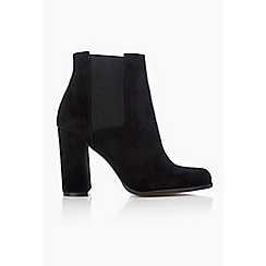 Wallis - Black leather ankle boot
