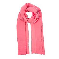 Wallis - Bright pink glitter scarf
