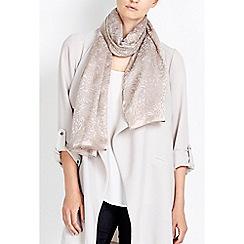 Wallis - Gold floral print scarf