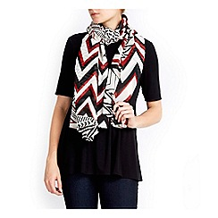 Wallis - Graphic aztec print scarf