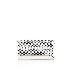 Wallis - Pale pink clutch bag