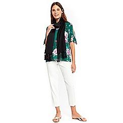 Wallis - Black luxe pashmina scarf