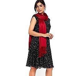 Wallis - Red luxe pashmina scarf