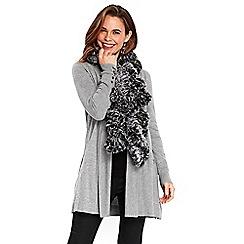 Wallis - Grey ombre scarf