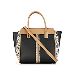 Wallis - Elle snake side tote bag