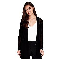 Wallis - Black kimono cardigan