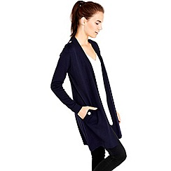 Wallis - Navy button detail cardigan