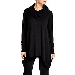 Wallis - Black cowl neck jumper