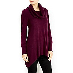 Wallis - Purple cowl neck jumper