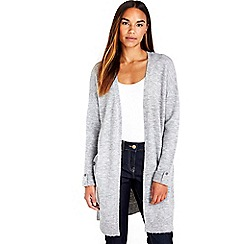 Wallis - Grey compact cardigan