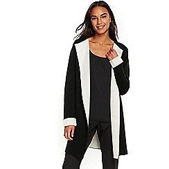 Wallis - Black coatigan