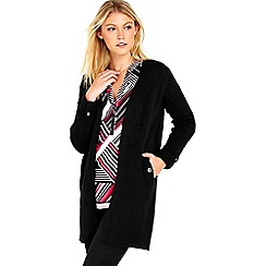 Wallis - Black sleek cardigan