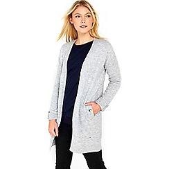 Wallis - Grey sleek cardigan