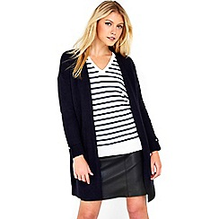 Wallis - Navy sleek cardigan