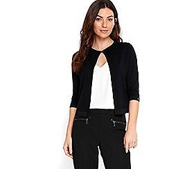 Wallis - Black buttoned shrug