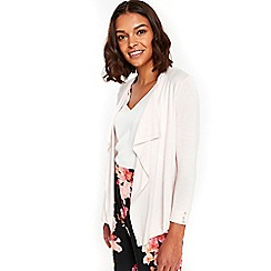 Wallis - Blush waterfall shrug