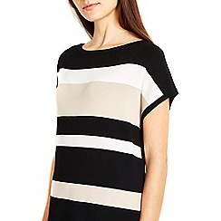 Wallis - Black multi stripe jumper