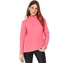 Wallis - Pink ribbed jumper